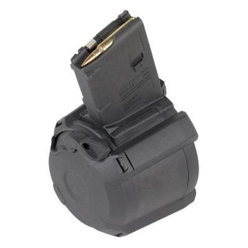 Magpul D-60 Black 60 Round Drum Magazine for AR15/M4 Pattern Firearms, .223/5.56