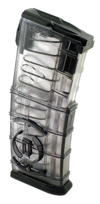 ETS AR-15 Magazine, Integrated Coupler .223/5.56mm, Translucent Black, 30rd