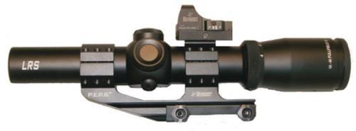 Burris Fullfield TAC30 Riflescope, Fastfire II Sight 1-4x24mm Illuminated Ballistic CQ 5.56 Reticle 30mm Tube