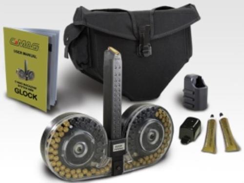 Beta Glock 9mm Drum, Clear