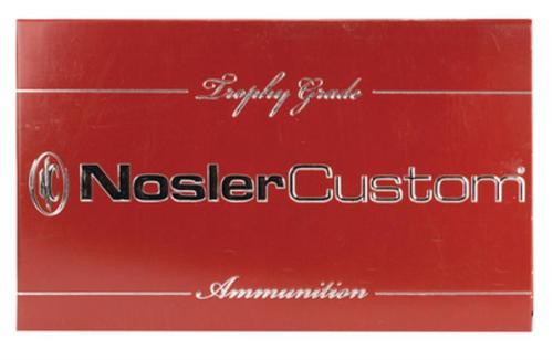 Nosler Trophy Grade .30-06 Springfield 168gr, E-Tip, 20rd Box