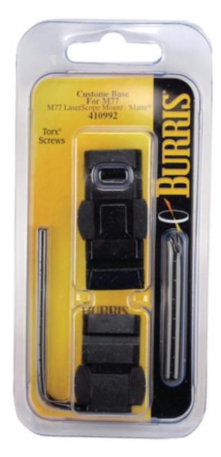 Burris Ruger-To-Weaver Base Adapter M77 Laserscope Black