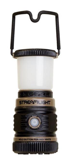 Streamlight Siege Lantern 50/100/200 Lumens AA (3) Coyote/Black