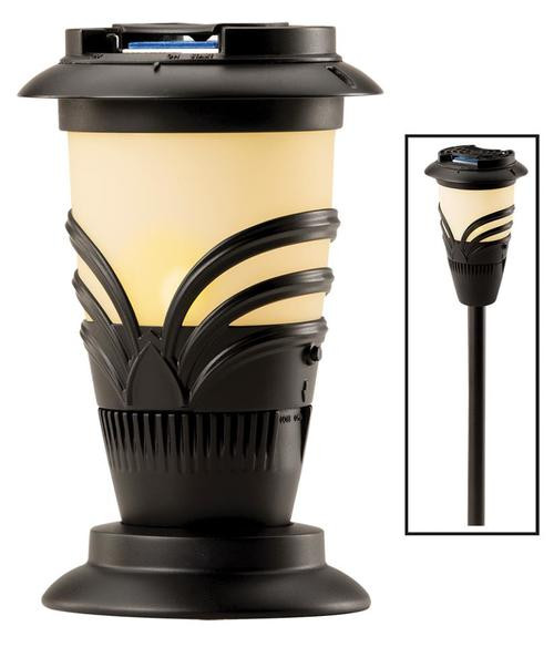 Thermacell Mosquito Insect Repellant Torch Lantern Flameless Unscented Black