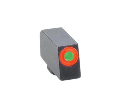 Ameriglo Front Tritium Night Sight For All Glock Green With Orange Outline .220 Height .140 Width