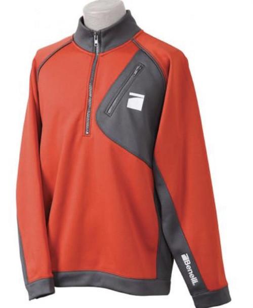 Benelli Performance Orange/Gray Pullover, XL