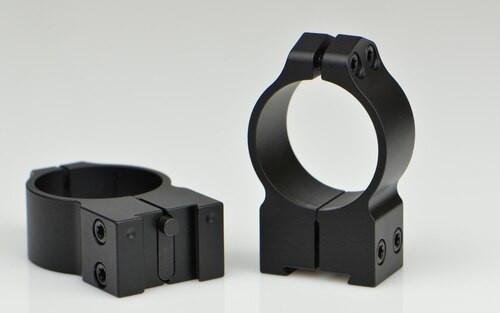 Warne 30mm Tikka, PA, High Matte Rings, Fits Tikka Grooved Receiver