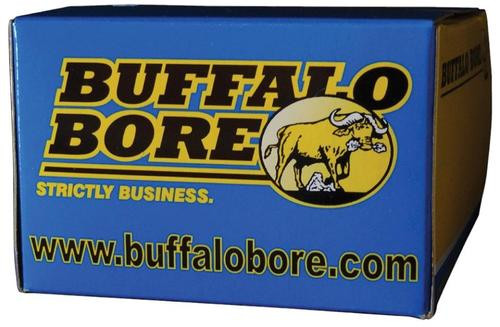 Buffalo Bore Ammo 9mm Makarov +P Hard Cast Flat Nose 115gr, 20rd Box