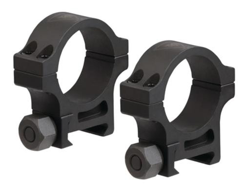 Trijicon AccuPoint Standard Steel Rings Parkerized 30mm