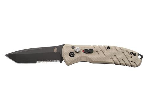 Gerber Propel Downrange Auto - S30v Blade, Tan G-10 Handle, Automatic Knives