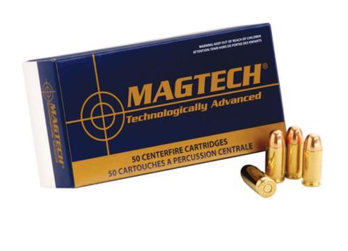 Magtech Sport Shooting 45 ACP 230gr, FMJ Semi Wadcutter 50rd Box 20 Box/Case