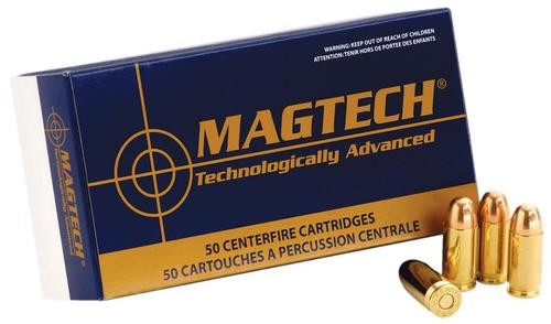Magtech 9mm 124gr, Jacketed Soft Point 50Rd/Box
