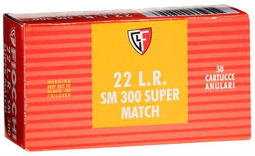 Fiocchi Super Match 22 LR 40gr, Lead Round Nose, 50rd Box