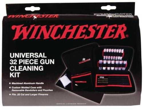 Dac Technologies Winchester Universal Cleaning Kit 32 Piece In Custom Fit Soft-Sided Case