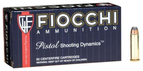 Fiocchi Shooting Dynamics .38 S&W Special 125gr, Semi Jacketed Soft Point, 50rd Box