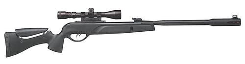 Gamo Whisper Fusion Air Rifle .177 Break Barrel, Scope Black
