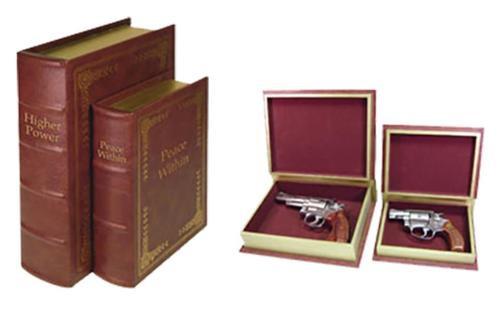 Peace Keeper DB2 Concealment Diversion Book Set Black