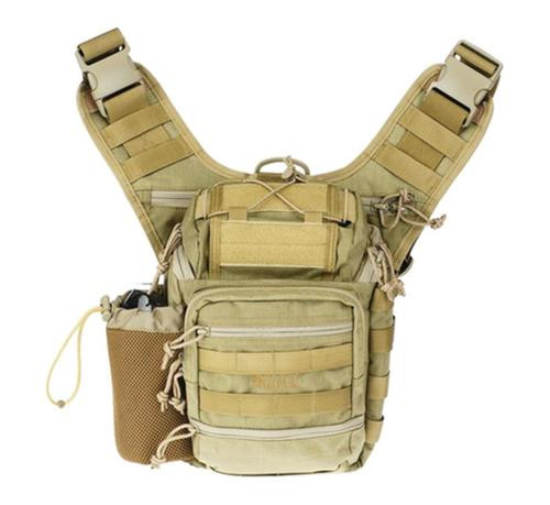 Drago Gear Ambidextrous Shoulder Pack Tan
