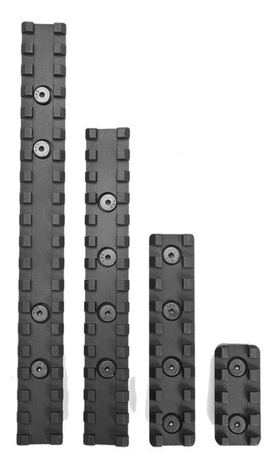 "Samson Evolution Keymod Rail Kit 4"" (1 Rail) 6061-T6 Anodized Alum Black"
