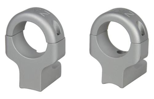 DNZ 2-Piece Hi Base/Rings For Howa Vanguard Style Silver Finish
