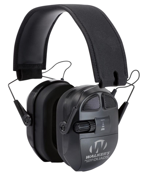 Walker's Game Ear Ultimate Power Muff Quads, AFT Electric