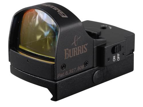Burris, Fastfire II, Red Dot, 4 MOA, With Picatinny Mount, Matte Black
