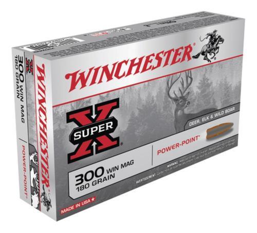 Winchester Super X 300 Win Mag Power-Point 180gr, 20Box/10Case