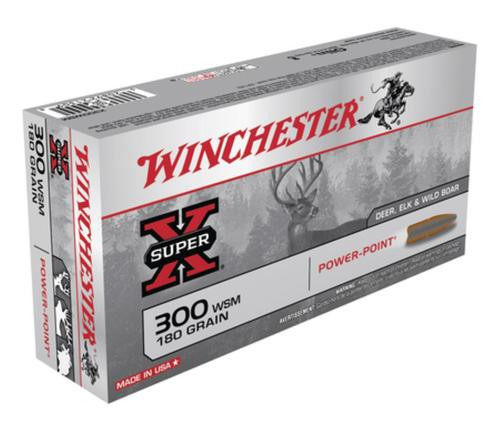 Winchester Super X 300 Short Mag Power-Point 180gr, 20Box/10Case