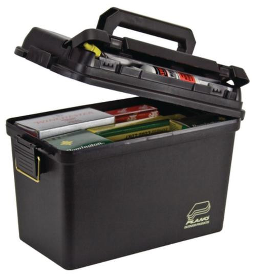 Plano Molding Company Deep Field/Tactical Case Without Tray Or Gasket Black
