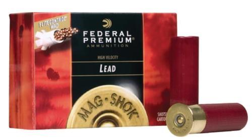Federal Mag-Shok Turkey Load High Velocity 12 Gauge 2.75 Inch 1315 FPS 1.5 Ounce 5 Shot 10 Per Box