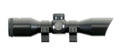 Stoeger 4 x 32 Illiuminated Red/Green Scope With 2-Piece Rings and Base