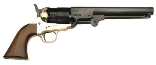 """Traditions 1851 Colt 44 7.5"""" Barrel Hammer/Blade Walnut Grips Stock, Black Powder, No FFL Needed"""