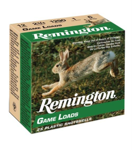 """Remington Game Loads 12 Ga, 2.75"""", 1290 FPS, 1oz, 8 Shot"""
