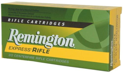 Remington Standard 22-250 Rem 55GR Pointed Soft Point 20rd Box