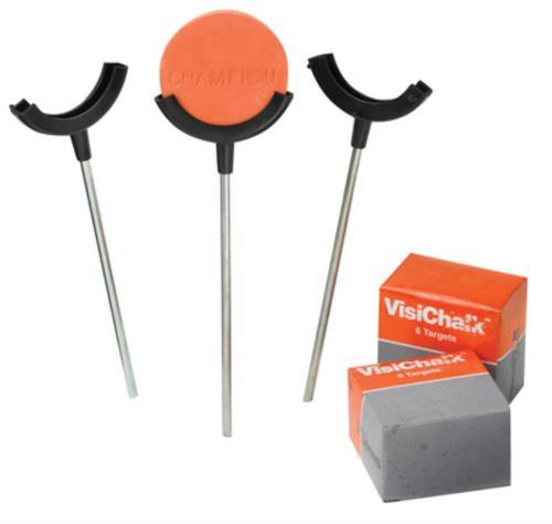Champion Visichalk Single Holder Target System Includes Twelve 3-Inch Targets