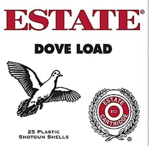 "Estate Dove and Target Load 12ga, 2 3/4"", 1 1/8oz, 8 Shot, 25rd/Box (10 Boxes/Case)"