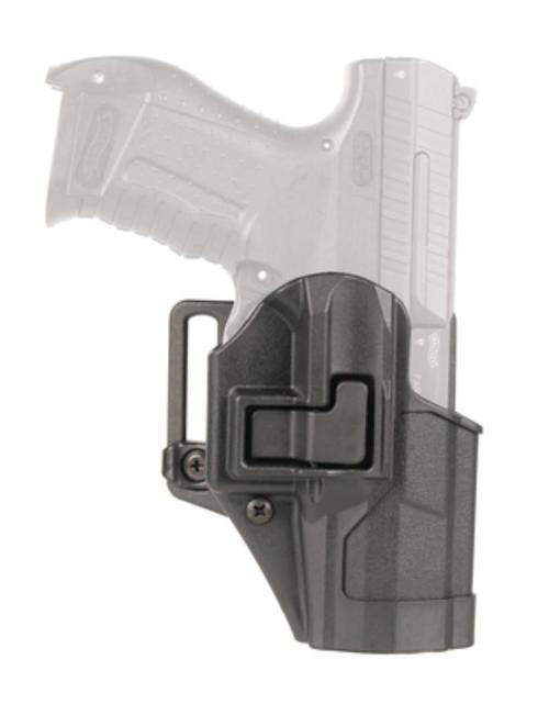 Blackhawk! Cqc Carbon Fiber Serpa Active Retention Holster Matte Black Right Hand For Walther P99