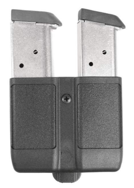 Blackhawk CQC Concealment Modular Single Stack Double Magazine Case Carbon Fiber Black