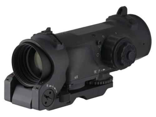 Elcan Optics Specter Dual Role 1x/4x Optical Sight CX5395 Illuminated Crosshair Reticle 5.56mm Black