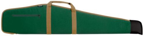 Bulldog Cases Deluxe Scoped Rifle Cases Green with Camel Trim 48 Inch