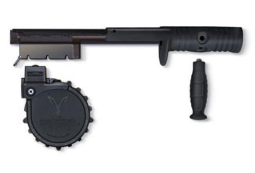 Adaptive Tactical Sidewinder Venom Kit, 10 Round Rotary Drum Magazine, for Mossberg 590