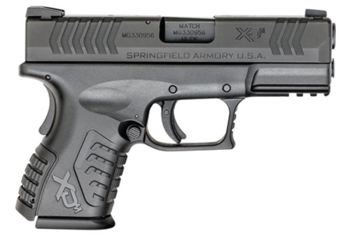 "Springfield XDM 3.8 Compact .40 SW 3.8"" Barrel Black One 11rd & One 16 Rd Mags"
