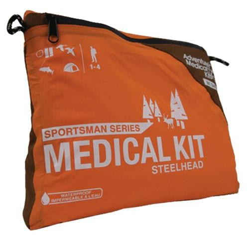 Adventure Med Kits Sportsman Steelhead Medical Kit Waterproof Orange