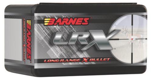Barnes Lrx Long-Range X Bullet .30 Caliber .308 Diameter 200gr, 1:10 Inch Twist Or Faster Recommended, Lrx Boattail, 50rd/Box