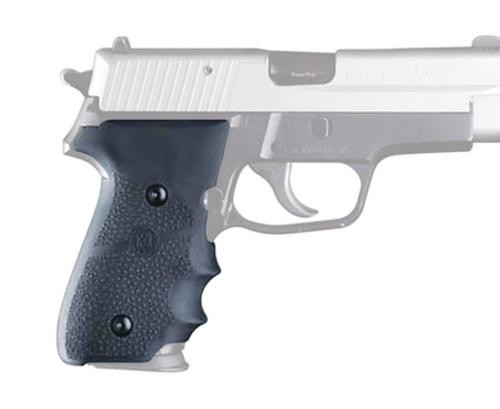 Hogue Sig Sauer P228/P229 Rubber Grip, Finger Grooves Black