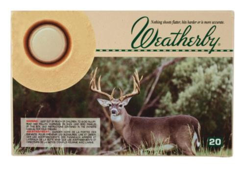 Weatherby .257 Weatherby Magnum 100gr, Norma Spitzer, 20rd Box