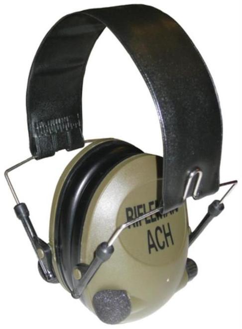 HWI Tactical & Duty Gear Pro Rifleman ACH Electronic Ear Muffs