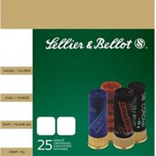 Sellier and Bellot SB Buckshot 12Ga 2 3/4 1 1/8 oz #1 12 Pellet 25Rd/Box