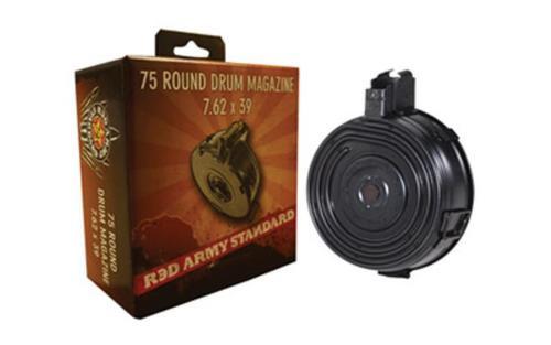 Century Romanian AK Drum Mag 7.62x39mm, 75rd