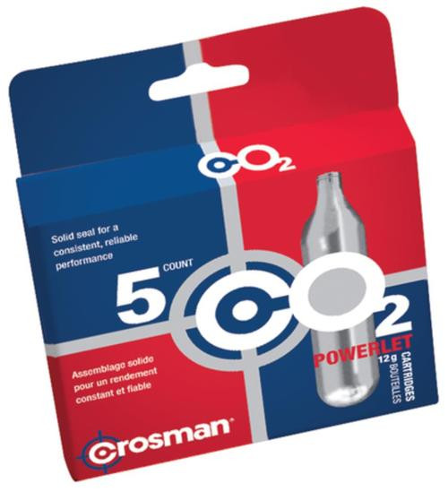 Crosman CopperHead CO2 Cartridges 12 Grams Stainless